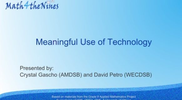 davemeaningfuluseoftechnology