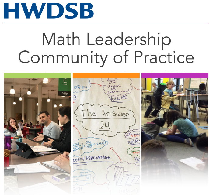 Math Leadership at HWDSB
