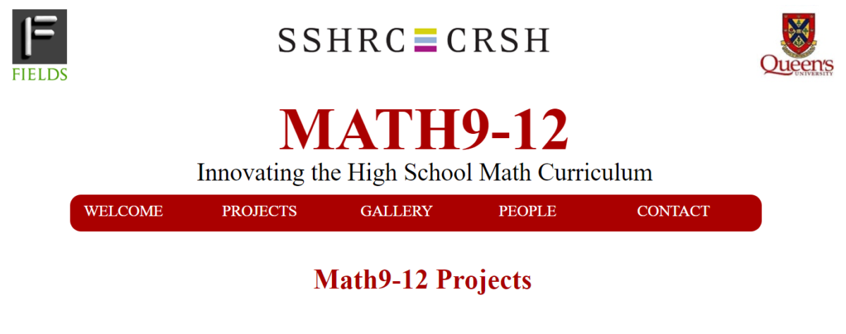 Math9-12: Innovating the High School Math Curriculum