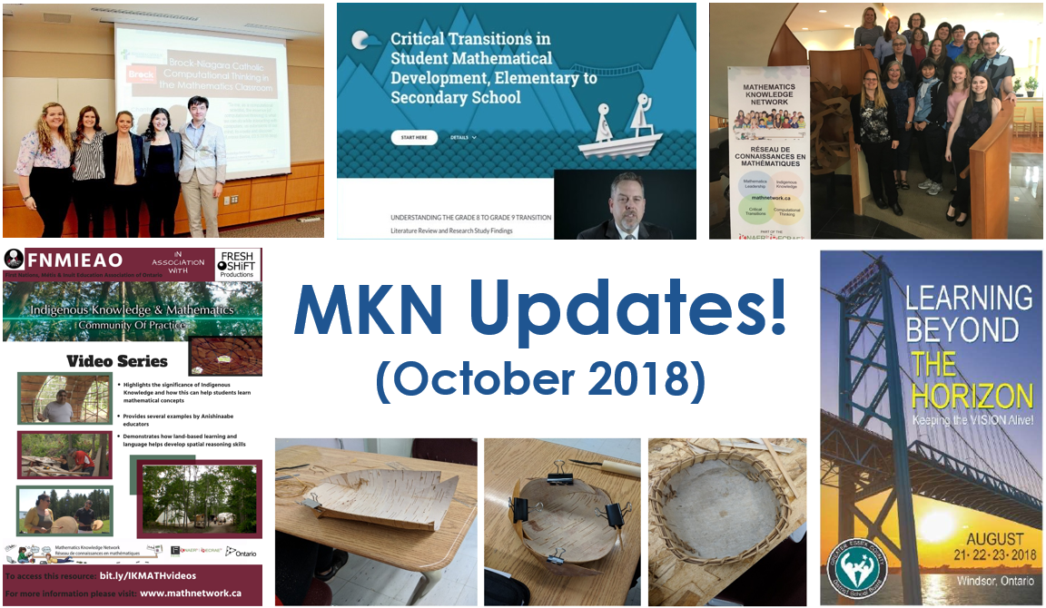MKN October 2018 Updates